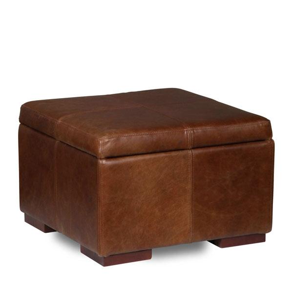 Vintage Classic Vintage Square Storage Footstool 60x60