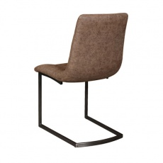 Hampton Chair with Faux Leather Seat