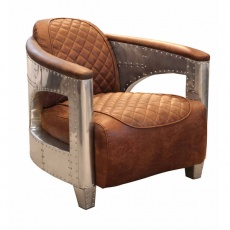 Hurricane Chair in Jet Silver