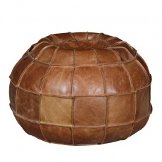 Bean Bag Atom in Brown Cerato Leather