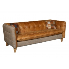 Brunswick 2 Seat Sofa - Hunting Lodge Harris Tweed - Fast Track Delivery