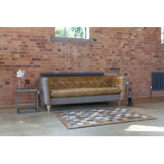 Brunswick 3 Seat Sofa - Hunting Lodge Harris Tweed - Fast Track Delivery