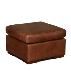 Classic Vintage Square Footstool 60x60