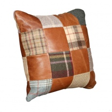 40 x 40 Patchwork Cushion