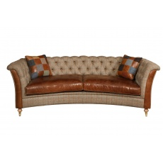 Granby Large Curved Sofa 4 Seater