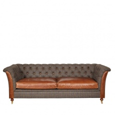 Granby 3 Seater Sofa - Moreland Harris Tweed - Fast Track Delivery