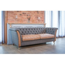 Granby 2 Seater Sofa - Moreland Harris Tweed - Fast Track Delivery