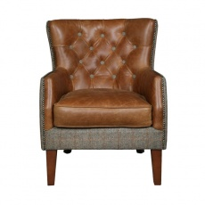 Stanford Chair - Moreland Harris Tweed - Fast Track Delivery