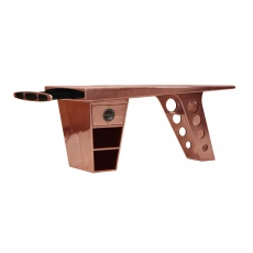 Aviator Half Wing Desk in Vintage Copper
