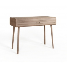 Tambour Grey Studio Desk