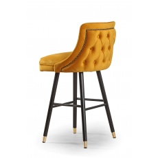 Caroline Bar Stool - Buttoned Back