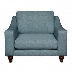 Penryn Formal-Back Snuggler Chair