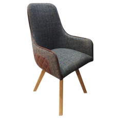 Ohio Deluxe Chair - Wooden Legs