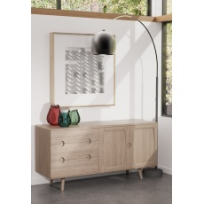 Holcot Sideboard - Grey Finish