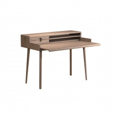 Holcot Desk - Grey Finish