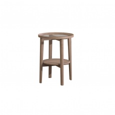 Holcot Side Table - Grey Finish