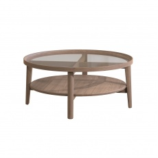 Holcot Coffee Table - Grey Finish