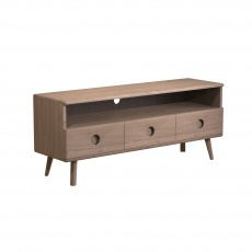 Holcot Media Unit - Grey Finish