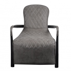 Manhattan Snug Chair (Liberty - Millan Steel Cover)
