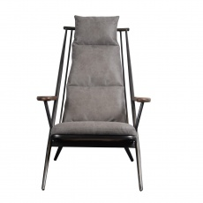 Heydon Chair (Ely - Millan Steel Cover)