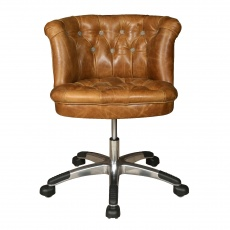 Austin Buttoned Office Chair