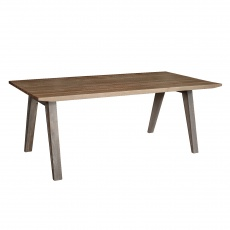 Boardwalk - Distressed Pine Fixed Top Large Table