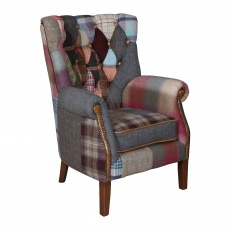 Barnard Patchwork  (Hexham) Chair -  Fast Track -(NEW June/July 2021)
