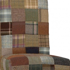 Rollback Patchwork Chair Wool Mix