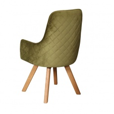 Ohio Chair with Wooden Legs