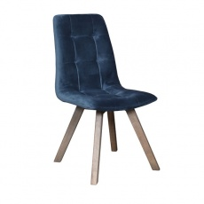 Atlanta Chair with Wooden Legs