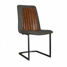 Noah Dining Chair with Metal Legs