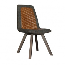 Carter Dining chair with Wooden Legs