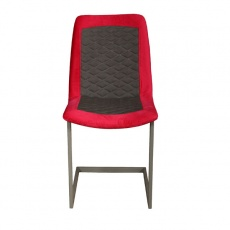 Sebi Dining Chair with Metal Legs