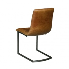 Leo Chair with Metal Legs
