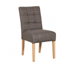 Colin Chair in Harris Tweed Moreland Fabric