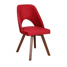 Dex Chair with Wooden Legs