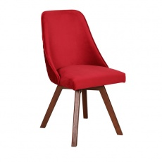 Bert Chair with Wooden Legs