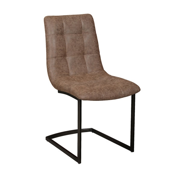 Carlton Hampton Chair with Faux Leather Seat