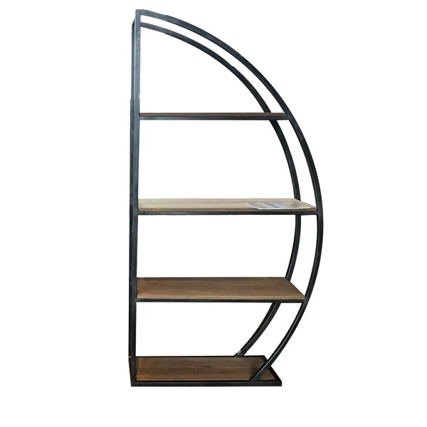 Carlton Sail Metal Bookcase