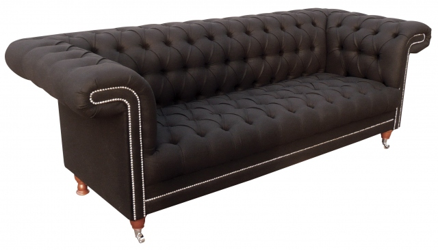 vintage Chester Lounge Club 2 Seater Sofa