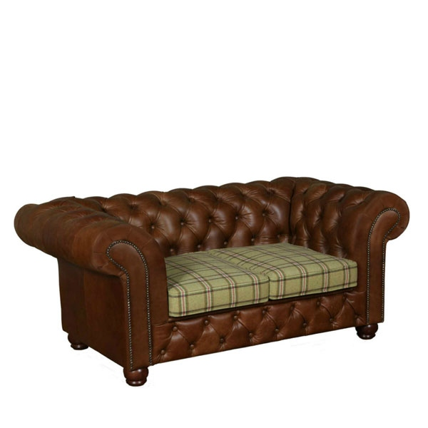 vintage Chesterfield 2 Seater