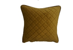 vintage Deco Cushion 50x50 Diamond Pattern