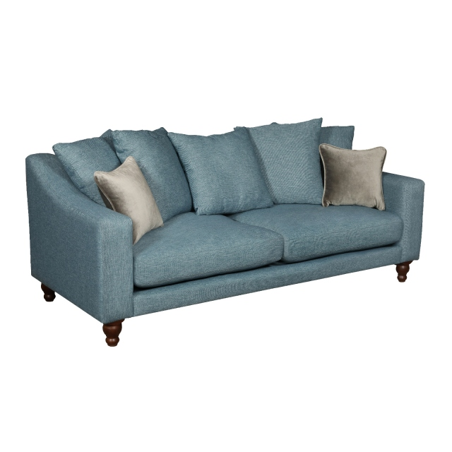 vintage Penryn Pillowback 3 Seater Sofa
