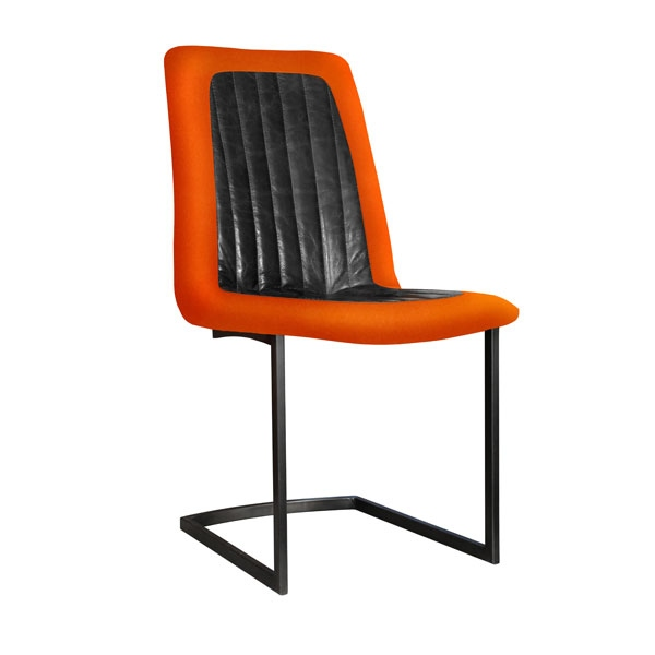 Carlton Noah Dining Chair - Metal Legs