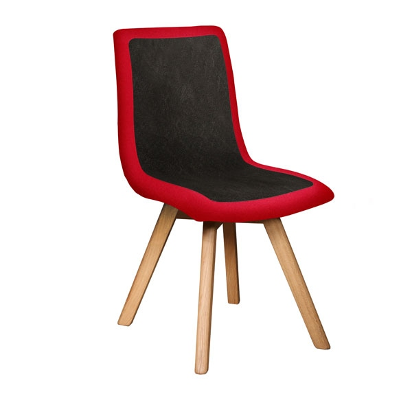 Carlton Eve Chair with Wooden Legs