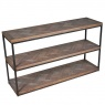 Carlton Ironworks Wide Display Bookcase