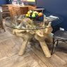 Carlton Root Table 1300 - Glass Top
