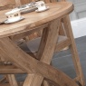 Carlton Copeland 1800 Cross Leg Oval Ext. Dining Table